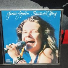 CDs de Música: JANIS JOPLIN FAREWELL SONGS BUEN ESTADO. Lote 229890165