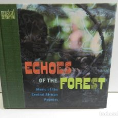 CDs de Música: DISCO CD. PYGMIES – ECHOES OF THE FOREST (MUSIC OF THE CENTRAL AFRICAN PYGMIES). COMPACT DISC.. Lote 229891520