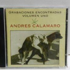 CDs de Música: DISCO CD. ANDRÉS CALAMARO – GRABACIONES ENCONTRADAS (VOLUMEN 1). COMPACT DISC.. Lote 229892690