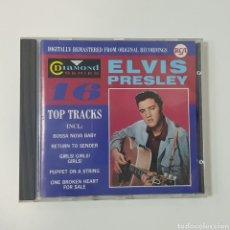 CDs de Música: ELVIS PRESLEY - DIAMOND SERIES - 16 TOP TRACKS - RCA. Lote 229910995
