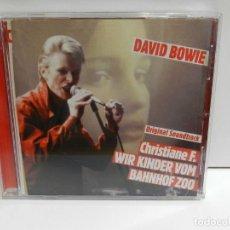 CDs de Música: DISCO CD. DAVID BOWIE – CHRISTIANE F. WIR KINDER VOM BAHNHOF ZOO. COMPACT DISC.. Lote 229911080