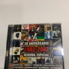 CDs de Musique: CD4162 30 ANIVERSARIO 1982/2002 RESERVA ESPECIAL CD SEGUNDA MANO. Lote 229990295