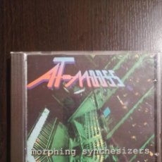 CDs de Música: AT-MOOSS ‎– MORPHING SYNTHESIZERS. Lote 230099105