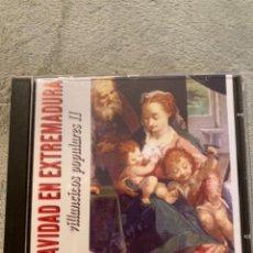 CDs de Música: CD NAVIDAD EN EXTREMADURA VILLANCICOS POPULARES II. Lote 230151745