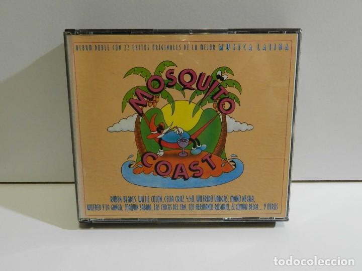 DISCO CD. VARIOS – MOSQUITO COAST. COMPACT DISC. DOBLE (Música - CD's Latina)