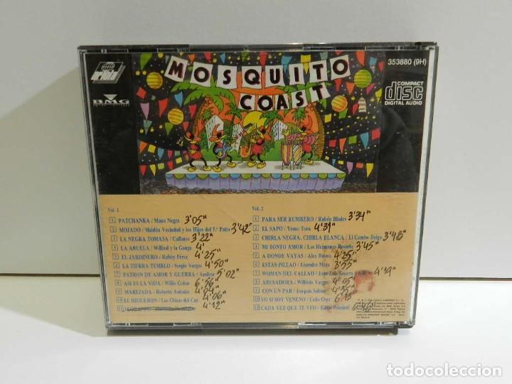 CDs de Música: DISCO CD. Varios – Mosquito Coast. COMPACT DISC. DOBLE - Foto 4 - 230157780