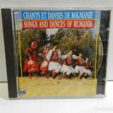 CDs de Música: DISCO CD. VARIOS – CHANTS ET DANSES DE ROUMANIE. COMPACT DISC.. Lote 230157955
