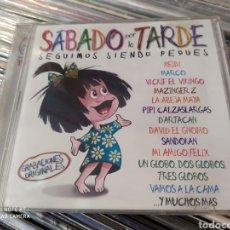 CDs de Música: SÁBADO POR LA TARDE (SEGUIMOS SIENDO PEQUES) DOBLE CD. MÚSICA INFANTIL AÑOS 80. Lote 230163675
