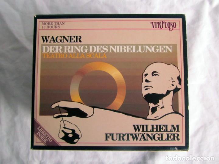 CDs de Música: Estuche con 14 CDs Der Rung des Nibelungen, Wagner, Wilhelm Furtwängler - Foto 2 - 230234580