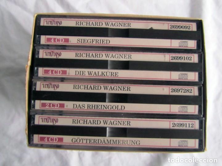 CDs de Música: Estuche con 14 CDs Der Rung des Nibelungen, Wagner, Wilhelm Furtwängler - Foto 3 - 230234580