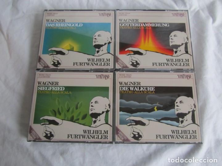 CDs de Música: Estuche con 14 CDs Der Rung des Nibelungen, Wagner, Wilhelm Furtwängler - Foto 4 - 230234580
