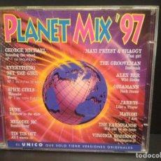 CDs de Música: PLANET MIX 97 - 2 CD GEORGE MICHAEL SPICE GIRLS DUNE MELODIE MC ALEX BER 23 TEMAS PEPETO. Lote 230294225