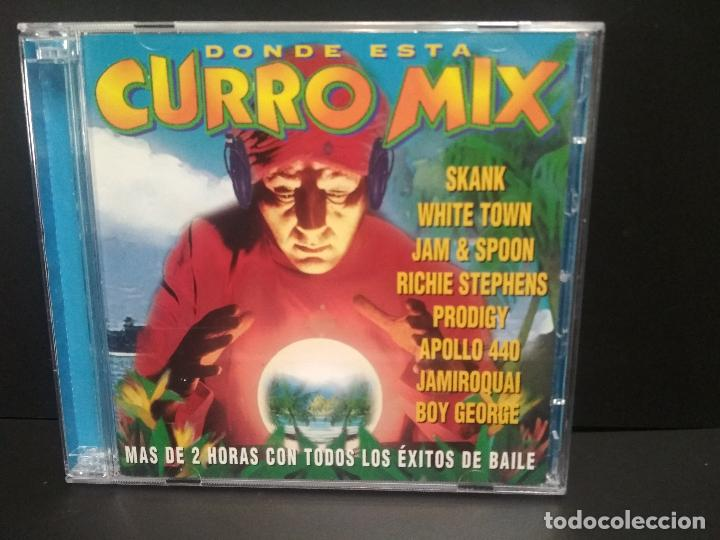 CURRO MIX JAMIROQUAI APOLLO 440 SKANK BOY GEORGE PRODIGY 2 CD ALBUM 1997 32 TEMAS PEPETO (Música - CD's Disco y Dance)