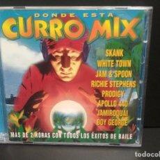 CDs de Música: CURRO MIX JAMIROQUAI APOLLO 440 SKANK BOY GEORGE PRODIGY 2 CD ALBUM 1997 32 TEMAS PEPETO. Lote 230295315