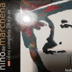 CDs de Música: OBRAS COMPLETAS DEL NIÑO DE MARCHENA EN 78RPM. Lote 230311780