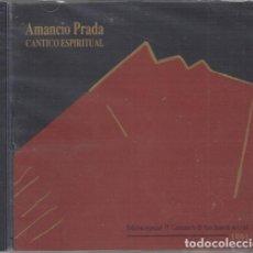 CDs de Música: AMANCIO PRADA - CANTICO ESPIRITUAL EDICION IV CENTENARIO SAN JUAN DE LA CRUZ - CD NUEVO Y PRECINTADO. Lote 230341700