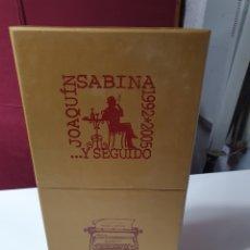 CDs de Música: JOAQUÍN SABINA....Y SEGUIDO, 1992 / 2005, 9 CD'S Y UN DVD, CON LIBRO Y LETRAS.. Lote 230443095