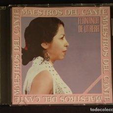 CDs de Música: CD CAJA FINA FERNANDA DE UTRERA -MAESTROS DEL CANTE (DISCO IMPECABLE). Lote 230464320