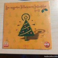 CDs de Música: CD LOS MEJORES VILLANCICOS INFANTILES PUBLICIDAD COCA COLA, MACDONALS. Lote 230486520