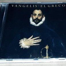 CD de Música: CD - VANGELIS - EL GRECO. Lote 230497025