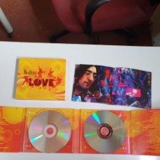 CDs de Música: THE BEATLES - LOVE, CD Y DVD CON LIBRETO, LO FOTOGRAFIADO.. Lote 230511360