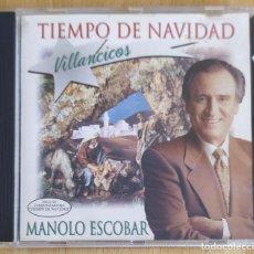 CDs de Música: MANOLO ESCOBAR (TIEMPO DE NAVIDAD) CD 1995. Lote 230553500