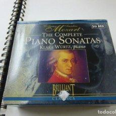 CDs de Música: THE COMPLETE PIANO SONATAS - KLARA WURTZ ,PIANO - 5 CDS - C 3. Lote 230580175