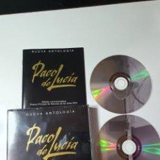 CDs de Música: PACO DE LUCÍA - NUEVA ANTOLOGIA, EDICIÓN CONMEMORATIVA PRÍNCIPE DE ASTURIAS 2004.. Lote 230593940