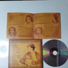 CDs de Música: JOAQUÍN SABINA, ENTRE TODAS LAS MUJERES, VOCES DE MUJER CANTAN A JOAQUÍN SABINA, COMO NUEVO PERFECTO. Lote 230600670