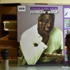 CDs de Música: HOWLIN' WOLF- 5 ALBUMS (5 CD, DIGIPAK, 2018) (NUEVO, PRECINTADO). Lote 230627840