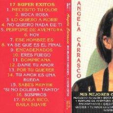 CDs de Musique: ANGELA CARRASCO - MIS MEJORES CANCIONES 17 SUPER ÉXITOS. Lote 230789600
