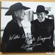 CDs de Música: WILLIE NELSON MERLE HAGGARD - DJANGO AND JIMMIE. (CD). Lote 230861975
