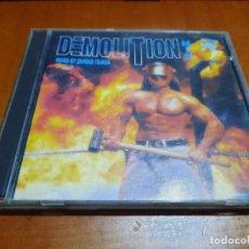 CDs de Música: DEMOLITION MIX. MIXED BY QUIQUE TEJADA. CD DOBLE EN BUEN ESTADO.. Lote 230918345