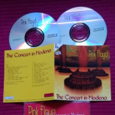 CDs de Música: PINK FLOYD: THE CONCERT IN MODENA.2 CD'S LIVE IN CONCERT 17-09-1994 IN MODENA, ITALY. MUY RARO.. Lote 230964885