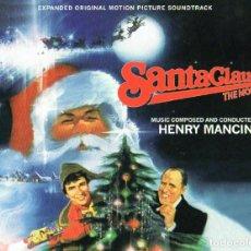 CDs de Música: HENRY MANCINI - SANTA CLAUS THE MOVIE (ORIGINAL MOTION PICTURE SOUNDTRACK) - BOX 3 CDS. Lote 267555844