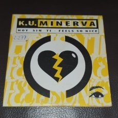 CDs de Música: K.U. MINERVA HOY SIN TI ( CD CARD SINGLE ) DIFICIL DE ENCONTRAR. Lote 230987660