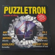 CDs de Música: PROMO CD CARD SINGLE PUZZLETRON 4 DIFÍCIL DE ENCONTRAR. Lote 230988295