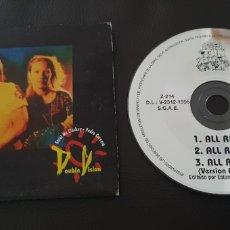 CDs de Música: DOUBLE VISION - ALL RIGHT ( 3 VERSIONES ) DIFICIL CD CARD SINGLE BUSCADO!. Lote 230988985