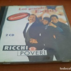 CD di Musica: RICCHI & POVERI. CD DOBLE EN BUEN ESTADO. CARÁTULA DOBLADAS.. Lote 230993130