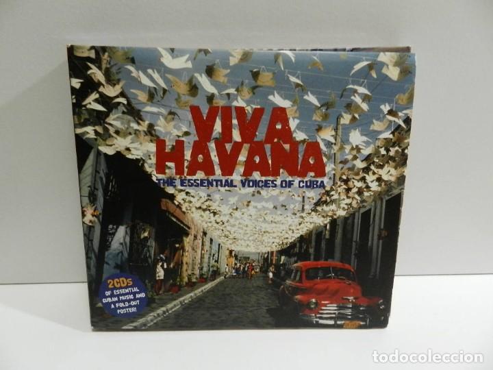 DISCO 2 X CD. VARIOS – VIVA HAVANA: THE ESSENTIAL VOICES OF CUBA. COMPACT DISC. (Música - CD's Latina)