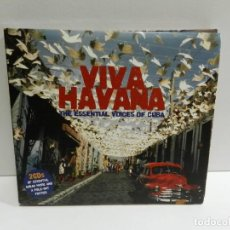 CDs de Musique: DISCO 2 X CD. VARIOS ‎– VIVA HAVANA: THE ESSENTIAL VOICES OF CUBA. COMPACT DISC.. Lote 231060925