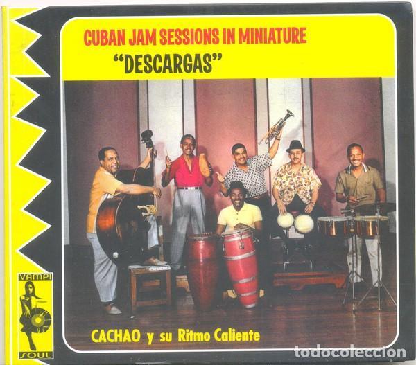"CACHAO Y SU RITMO CALIENTE – CUBAN JAM SESSIONS IN MINIATURE ""DESCARGAS"" (Música - CD's Latina)"