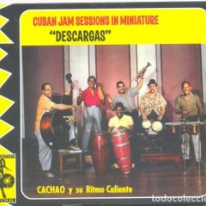 "CDs de Música: CACHAO Y SU RITMO CALIENTE ‎– CUBAN JAM SESSIONS IN MINIATURE ""DESCARGAS"". Lote 231061005"