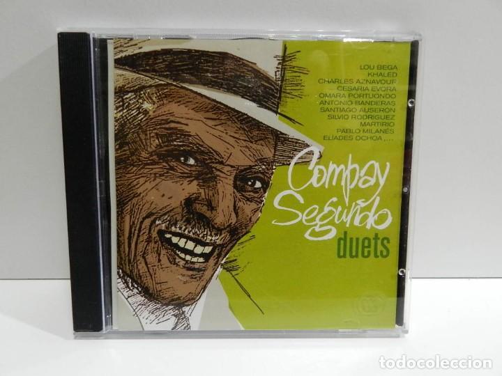 DISCO CD. COMPAY SEGUNDO – DUETS. COMPACT DISC. (Música - CD's Latina)