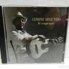 CDs de Música: DISCO CD. COMPAY SEGUNDO – YO VENGO AQUÍ. COMPACT DISC.. Lote 231062240