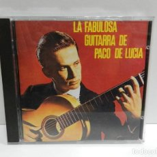 CDs de Música: DISCO CD. PACO DE LUCÍA – LA FABULOSA GUITARRA DE PACO DE LUCÍA. COMPACT DISC.. Lote 231062530