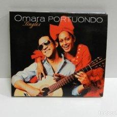 CDs de Música: DISCO CD. OMARA PORTUONDO – SINGLES. COMPACT DISC.. Lote 231068340