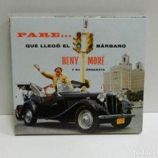 CD de Música: DISCO CD. BENY MORÉ Y SU ORQUESTA – PARE... QUE LLEGÓ EL BÁRBARO. COMPACT DISC.. Lote 231068640