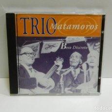 CDs de Música: DISCO CD. TRIO MATAMOROS – BESO DISCRETO. COMPACT DISC.. Lote 231071960
