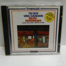 CDs de Música: DISCO CD. SILVIO RODRÍGUEZ – TE DOY UNA CANCIÓN. COMPACT DISC.. Lote 231073120